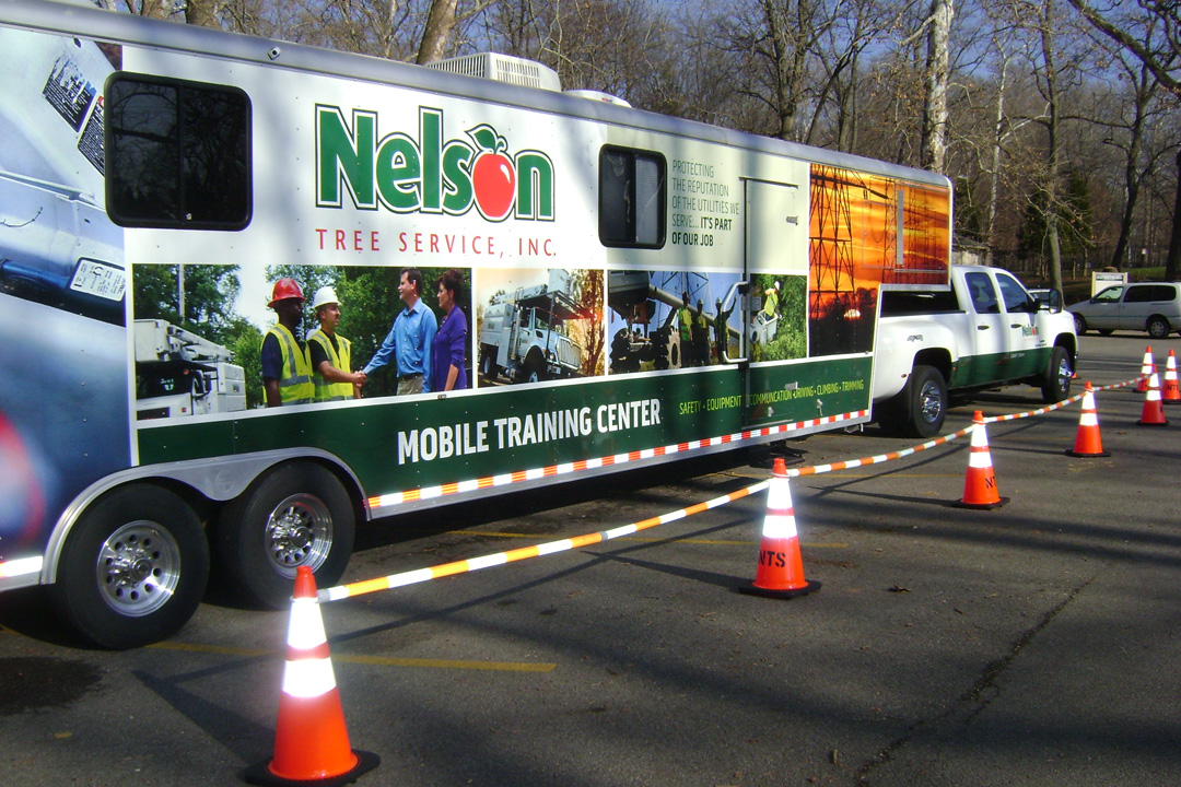 Nelson Tree Service Safety Van